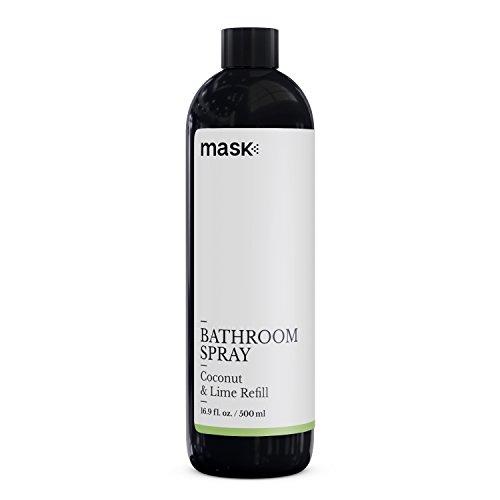 Mask Toilet Spray, Coconut & Lime, 16-Ounce Refill, Before You Go Spray for Bathroom