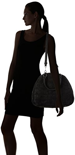 Liebeskind Berlin Izumo Alliga - Bolso con asas Mujer Negro - Schwarz (ninja black 9998)