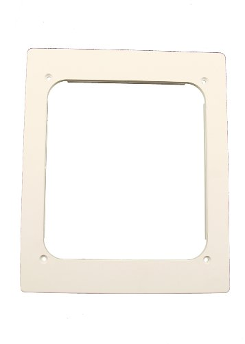 Leviton 47617-LPF Low Profile Frame For Recessed Entertainment Box (Leviton Box Recessed Entertainment)