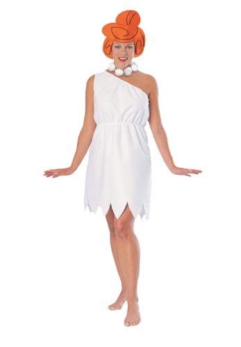 Wilma Flintstone Adult Costume - (Best Movie Couple Costumes)