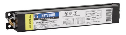 Keystone KTEB-240-1-TP Residential Use Only Electronic Ballast 2x F40T12 (Ballast Electronic Residential)