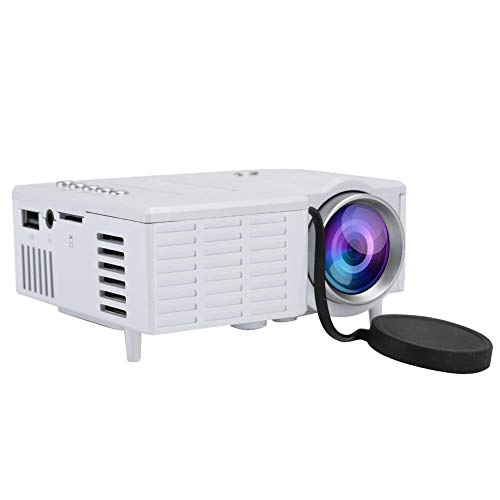 Mini Projector, Full HD 1080P Portable Home Theatre Video Projectors with 20,000 hours Lamp Life support USB, HD, SD, AV…