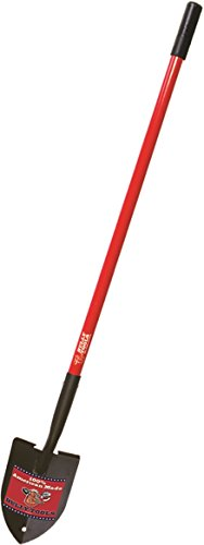 - Bully Tools 92710 Floral Spade. Long American Ash Handle. Running Change to Fiberglass.