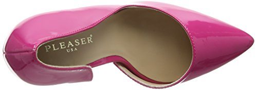 Pleaser Amuse 22 - Tacones, Mujer Rosa (H Pink Pat)