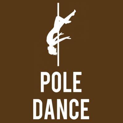 Sudadera con capucha de mujer Pole Dance by Shirtcity Marrón