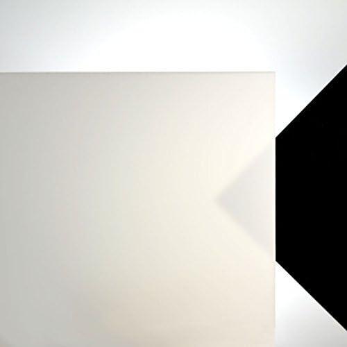 Acrylglas opalweiß Zuschnitt 1000 x 340 x 3 mm ca 40/% LD 29,38€//m²