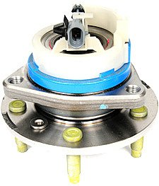 ACDelco FW293 GM Original Equipment Front Wheel Hub and Bearing Assembly with Wheel Speed Sensor and Wheel ()