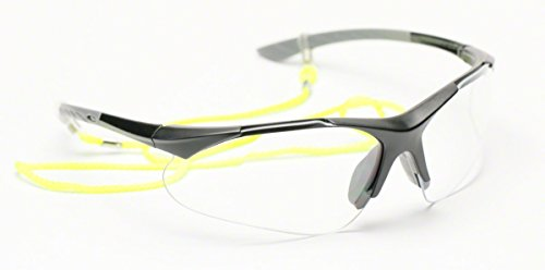 0c4615eb761 Elvex RX500 Full Lens .75 Magnification Ballistic Rated Safety Glasses with  Microfiber Carrying bag and