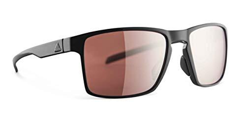 3334bde74f adidas Wayfinder Sunglasses 2018 Black Shiny LST Active Silver