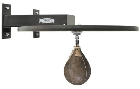 Drehkugellagerung schwarz und PU Boxbirne medium schwarz//rot Boxapparat f/ür die Wandmontage BCA-40 Premium Speedball Plattform Set inkl