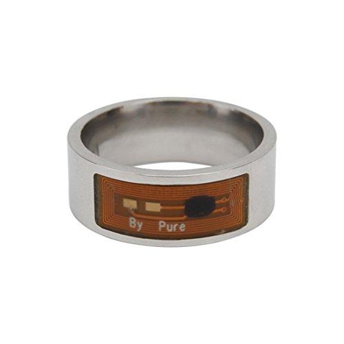 YJYdadaNFC Multifunctional Waterproof Intelligent Ring Smart Wear Finger  Digital Ring (6)