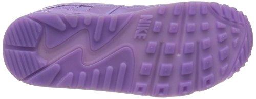 Nike Women's Wmns Air Max 90 QS, PARIS-VIOLA/FUCHSIA GLOW-CHALLENGE RED, 7 US