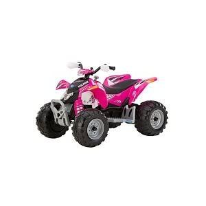 Toy / Game Peg Perego Polaris Outlaw - Pink - Smartpedal Accelerator W/ Automatic Brakes For Longer Riding Time