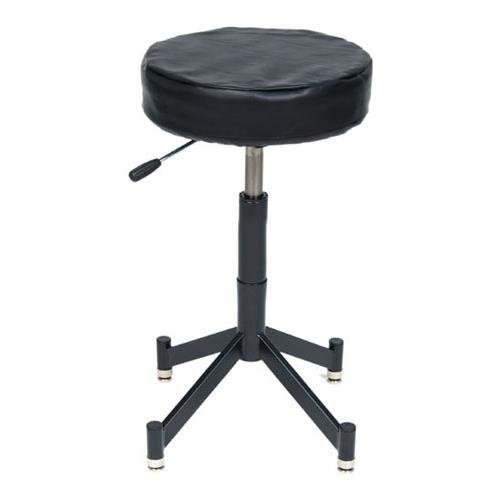 Photogenic PG341B Pneumatic Posing Stool with 4 Leg Tubular Base and PG-Z Cushion by Photogenic