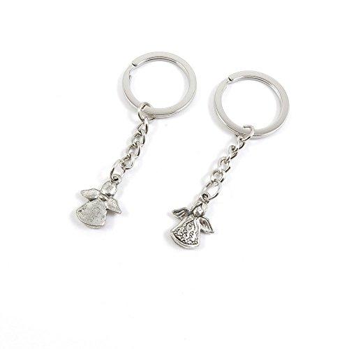 180 Pieces Fashion Jewelry Keyring Keychain Door Car Key Tag Ring Chain Supplier Supply Wholesale Bulk Lots L5FS3 Elf Angel Cherub
