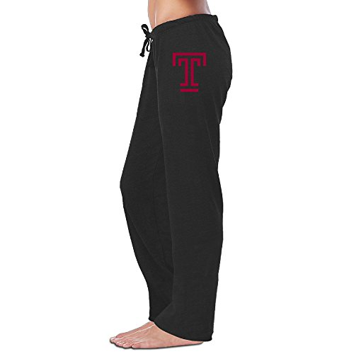 RABBEAT Temple University T Logo Comfortable Leisure Sweatpants For Women