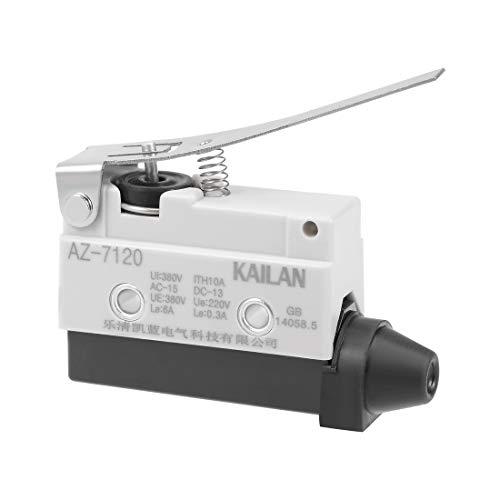 uxcell AZ-7120 Hinge Lever Limit Switch 1NC+1NO