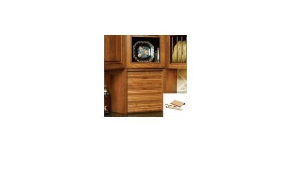 Amazon 30 Wide Tambour Door Kit Maple Beauty
