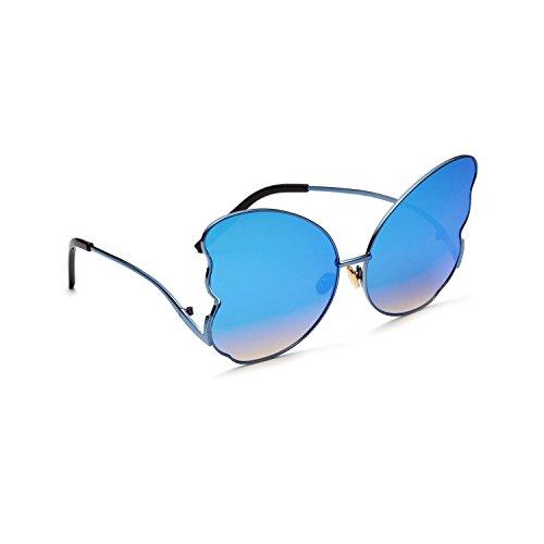 Gafas Aire inspirado polarizadas Redondo al Portección Unisex Libre Clásico Polarizado Sol Sunglasses UV400 Vintage de metálico rprqw4fxB