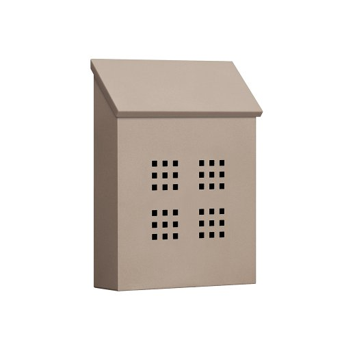 Traditional Mailbox, Decorative, V, Beige