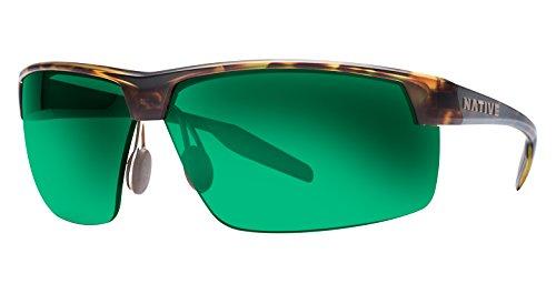 Native Eyewear Unisex Hardtop Ultra XP Desert Tort/Green - Hut Eyewear