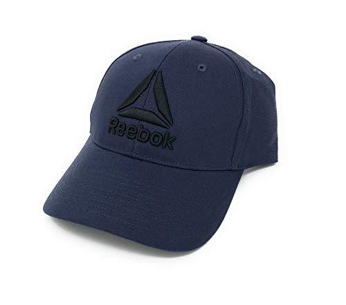 Reebok Delta Enhanced Baseball Cap, Heritage Navy, One Size (Mens Reebok Hats)