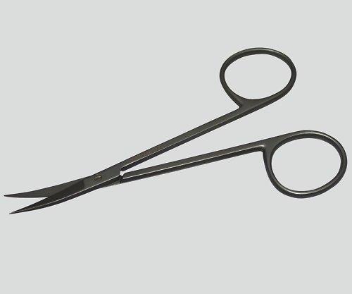 日本フリッツメディコ8-8452-02アイリス剪刀(眼科剪刀チタン製)曲 B07BD2S743