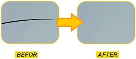 Jeu de Scellant en R/éSine Lopbinte Jeu de R/éParation de Pare-Brise de Voiture Outil de R/éParation de Restauration de Fissure de Verre de Fen/êTre de Voiture