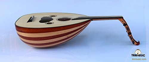 Turkish Quality Mahogany and Maple String Instrument Oud Ud AO-103M by SALA