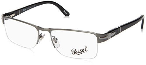 513 Glasses - Persol PO2374V Eyeglasses-513 Gunmetal-52mm