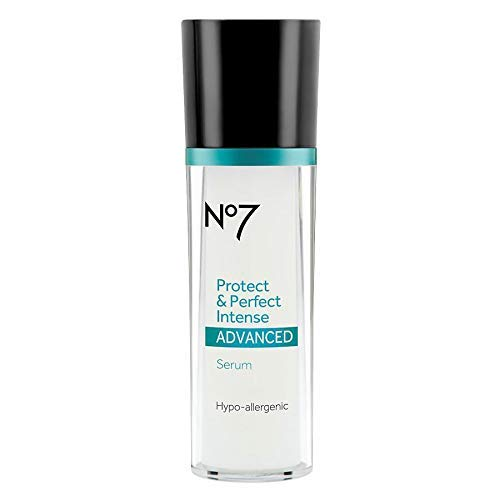Boots No7 Protect and Perfect Advanced Intense Facial Serum 1 Ounce Bottle (7 Boots Number Serum)