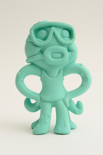 Ollee the Octopus All-Natural Soothing Teether Toy (Turquoise) from Meeno Babies