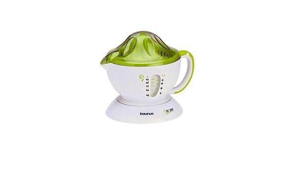 Taurus TC 700, 220-230 V, 50 Hz, 173 x 190 x 211 mm, Verde, Blanco - Exprimidor: Amazon.es: Hogar