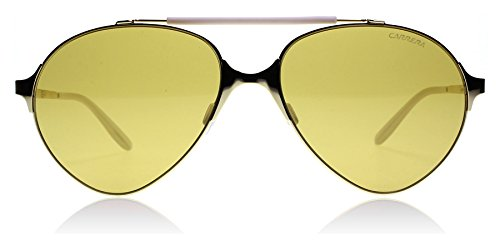 Carrera 124/S J5G Gold 124/S Aviator Sunglasses Lens Category 2 Size - 2 Sunglasses Category