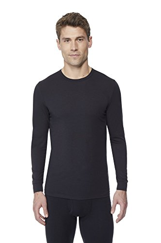 Degree Tee Shirts (32 DEGREES Men's Heat Performance Mesh Baselayer Tee- Black -XL)