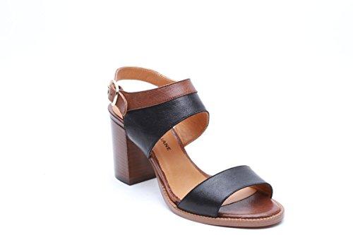 Scarpe italiane sandali da donna nero