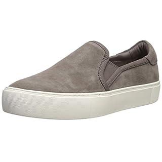 UGG Women's JASS Sneaker, mole Suede, 8.5 M US