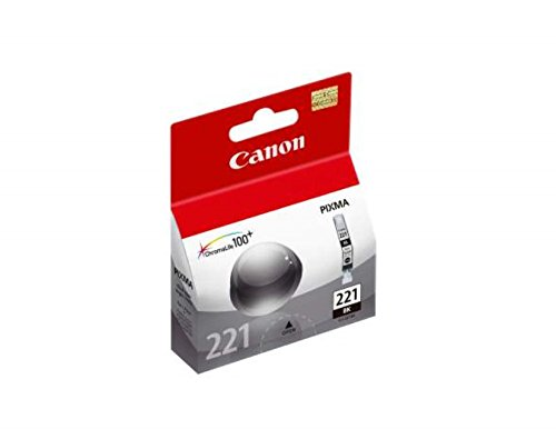 Canon CLI-221 Black Ink Tank Compatible to MP980, MP560, MP620, MP640, MP990, MX860, MX870, iP4600, iP3600, iP4700