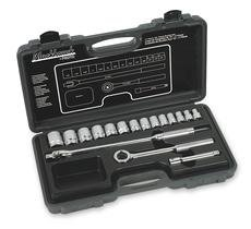 Blackhawk By Proto 1217-S 12-Point Drive Socket Set, 1/2-Inch, 17-Piece