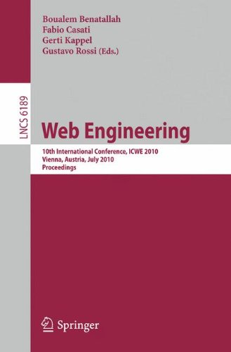 [PDF] Web Engineering Free Download | Publisher : Springer | Category : Computers & Internet | ISBN 10 : 3642139108 | ISBN 13 : 9783642139109