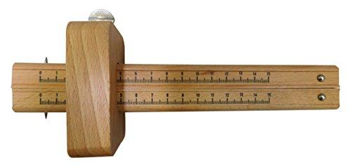 Stubai Streichmaß doppelt Maßeinteil 150 mm, 220 mm, 345501