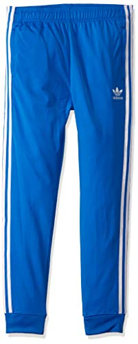 adidas Originals Little Kids Superstar Pant, Blue bird/white, Medium