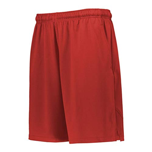 Russell Athletic Mesh Shorts Red XXL