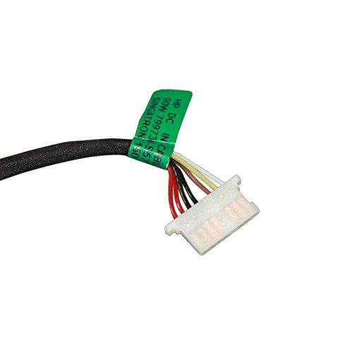 DC Power Jack Harness Cable for HP Pavilion 15-af131dx 15-af135nr 15-af139ca 17-u275cl 17-u292cl 17-u292cl 17-u294cl 17-u296cl by GinTai (Image #4)