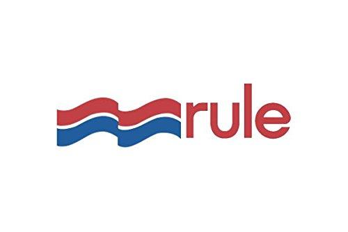Rule 21R 800 GPH Submersible Bilge Pump, Round, 24 Volt
