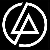 Linkin Park Lp Symbol Vinyl 4 Tall Color White Decal Laptop Tablet Skateboard Car Windows Stickers