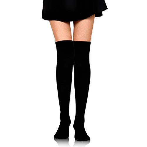 Paris Cloud Day High Knee Socks For Boots Long Dress Compression Polyester Sox Leg Tube Ideal ()