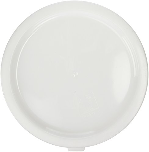 Cambro RFSC12148 White Poly Lid for 12/18 / 22 Qt Round Containers