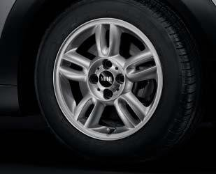 Mini Genuine 15' Light Alloy Wheel 5-Star Twin-Spoke R118 Silver 36116791930