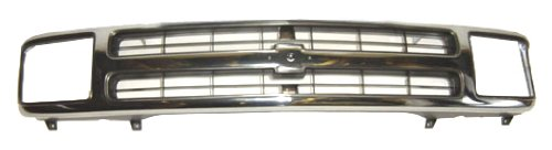OE Replacement Chevrolet S10 Blazer Grille Assembly (Partslink Number GM1200383)